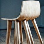 Современные стулья из дерева