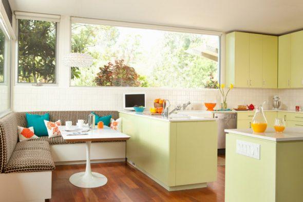 Созвучие цвета на кухни