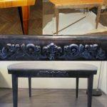 Стильный декор старого стола