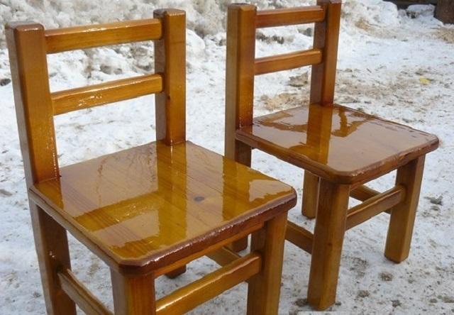 Деревянные стулья своими руками детские