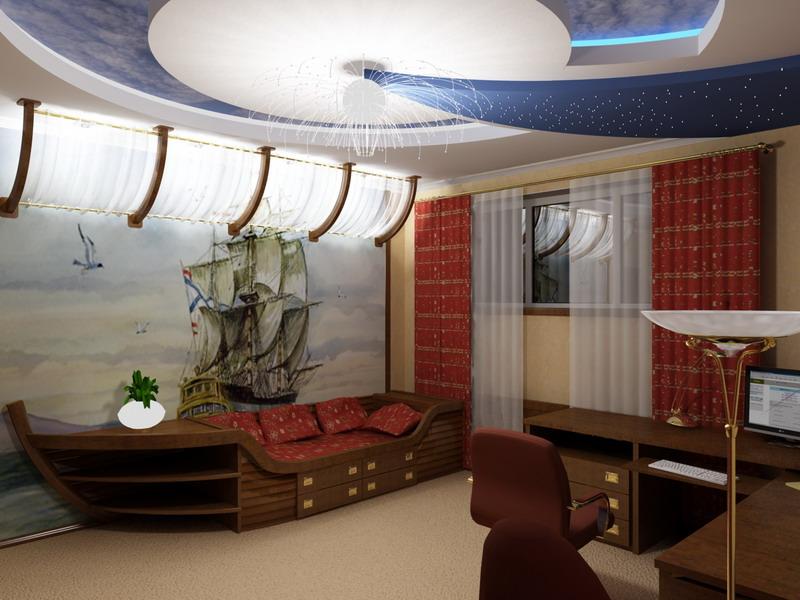 Квартирные дизайны комнат