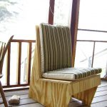 кресло из фанеры