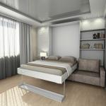 кровать шкаф с диваном
