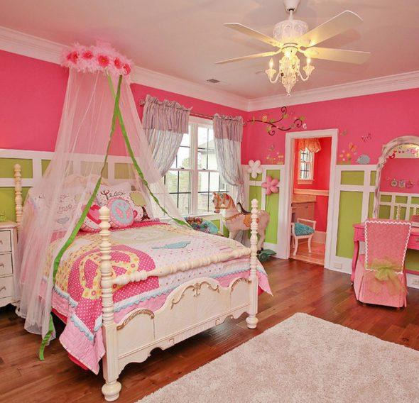 балдахин кровать для девочки