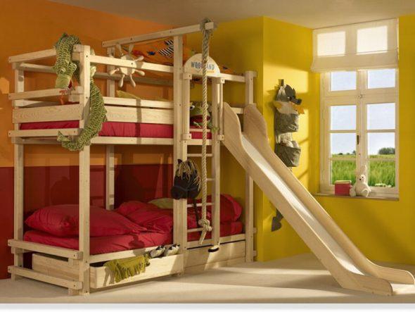 детская кровать для мальчиков