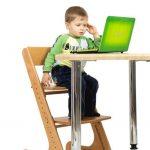 детский стул без лака