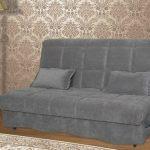 диван аккордеон серого цвета