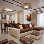 диван французская раскладушка в гостиной