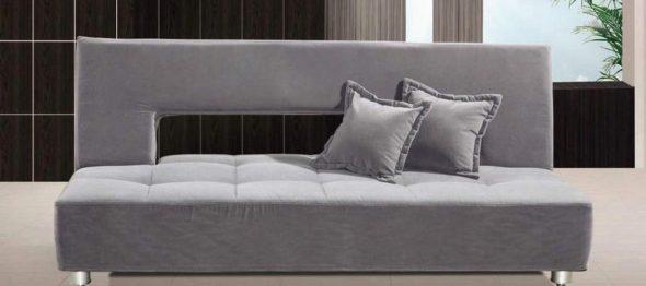 диван кровать с ортопедическим матрасом в дизайне