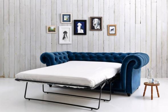 Диван Французская раскладушка в спальне