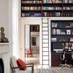 книжный шкаф встроенный