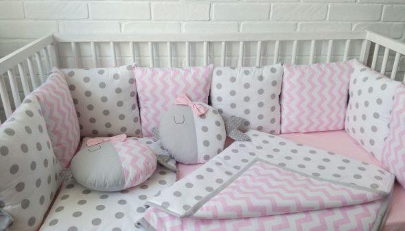 Как сшить подушку в детскую кроватку выкройки 43