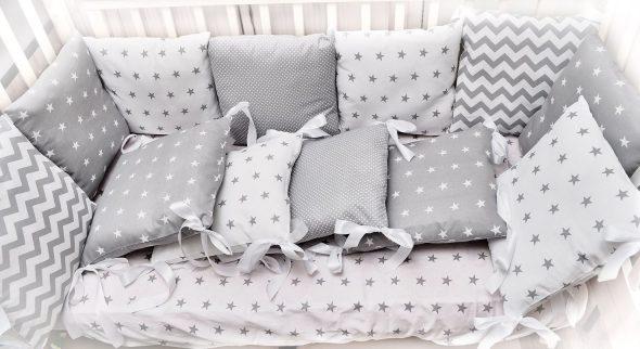 бортики подушки с чехлами