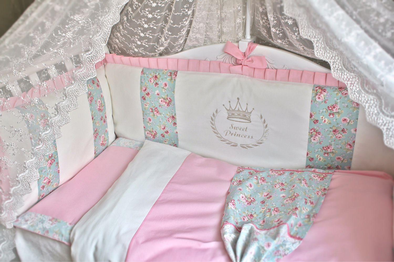 Бампер на кроватку для новорожденных своими руками 92