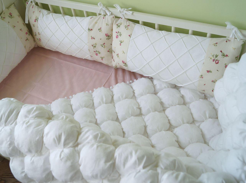 Из какой ткани лучше сшить бортики в кроватку 14