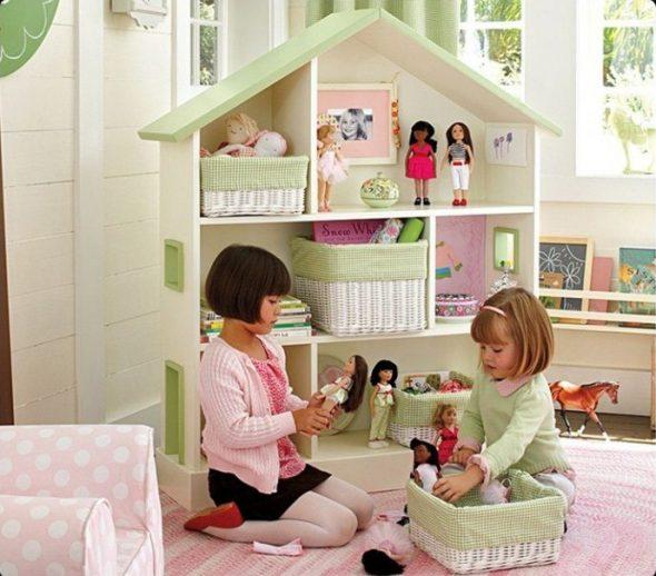 домик полка для девочек