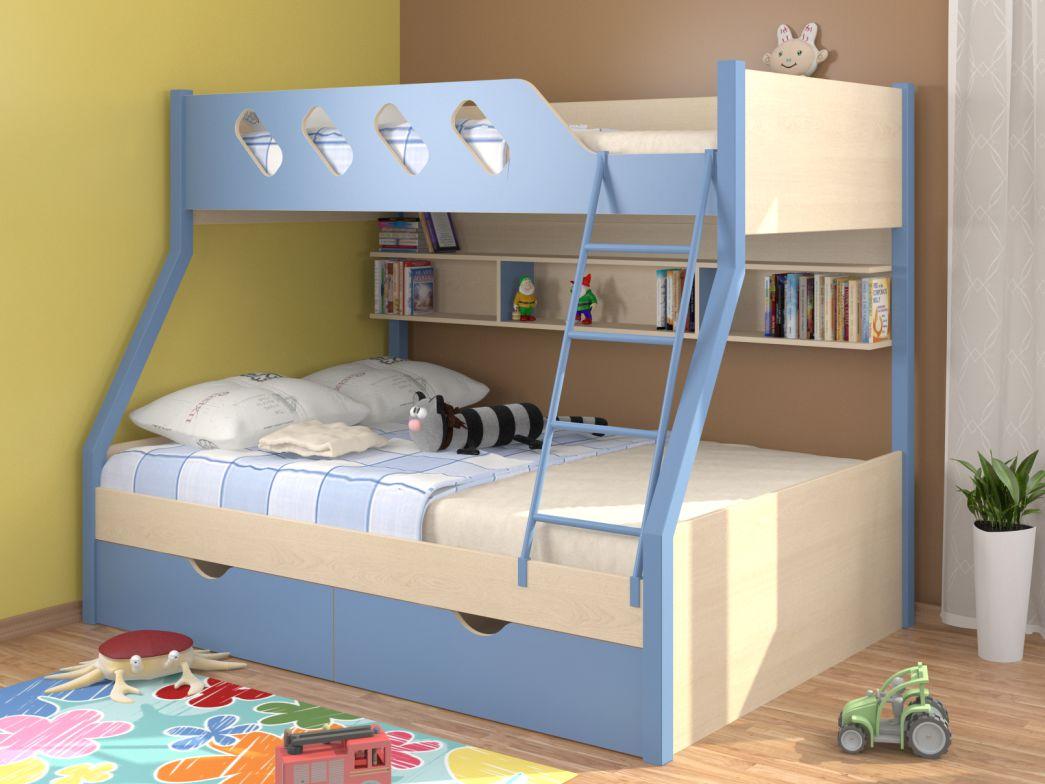 Достоинства и недостатки 2-ярусных кроватей для детей