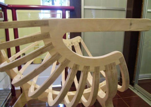 фанерное кресло своими руками