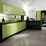 дизайн кухни зеленый
