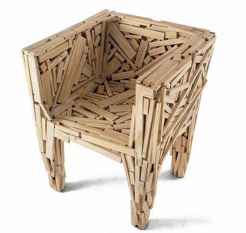 интересный дизайна стула своими руками
