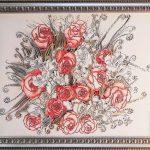 картина Коралловые розы