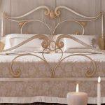 кованая мебель кровати
