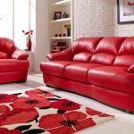 диван французская раскладушка красный