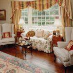 кресло английское с диваном