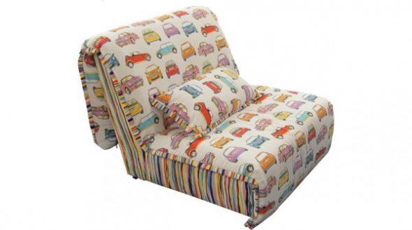 кресло кровать аккордеон без подлокотников детское