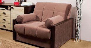 кресло кровать с подушками валиками