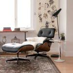 кресло с подставкой для ног дизайн