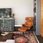 кресло с подставкой для ног гостиная