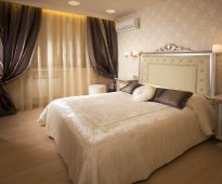 двуспальная кровать стильная
