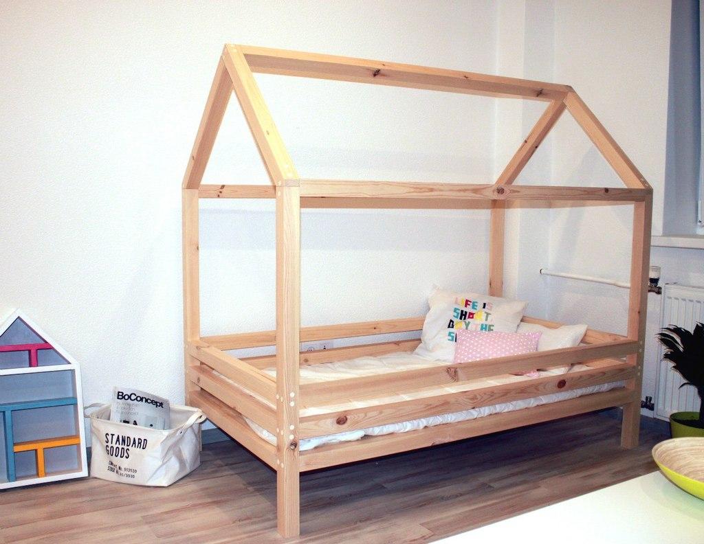 Как построить детскую кровать своими руками 2