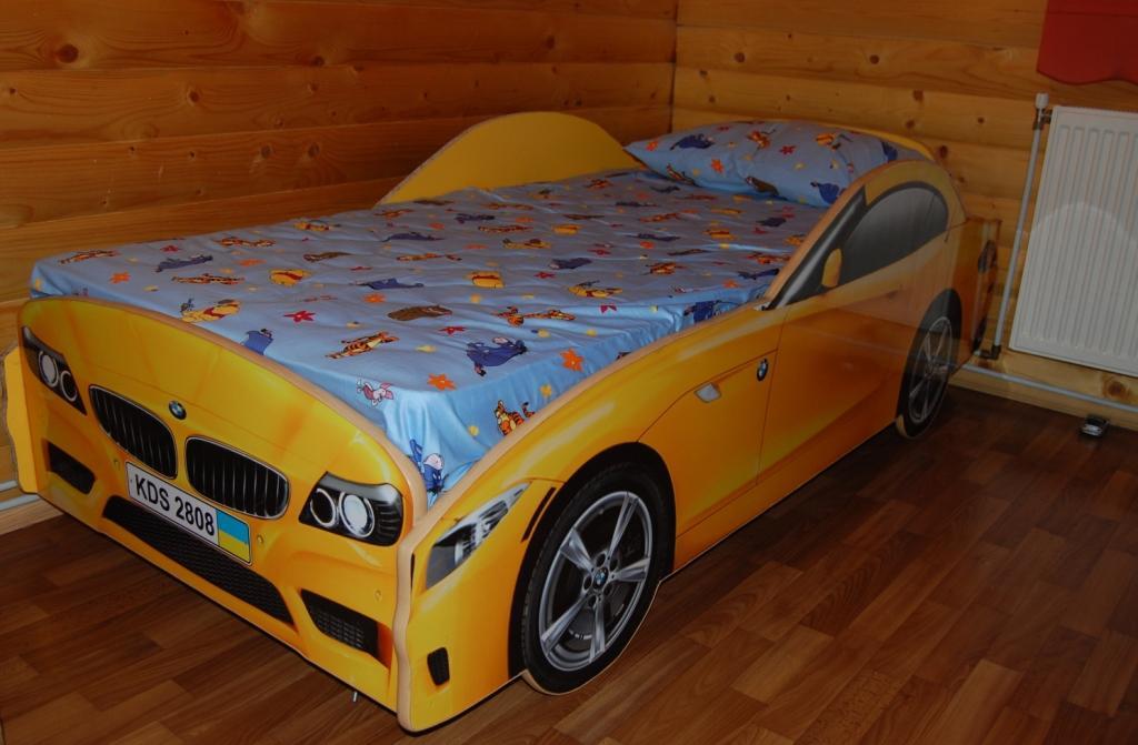 Детская кровать машинка фото 4