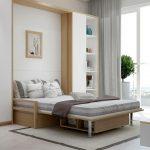 кровать шкаф минимализм