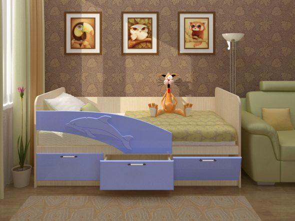 кроватки в дизайне