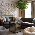 мебель бескаркасная в гостиной фото