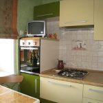 кухня глянцевая мебель