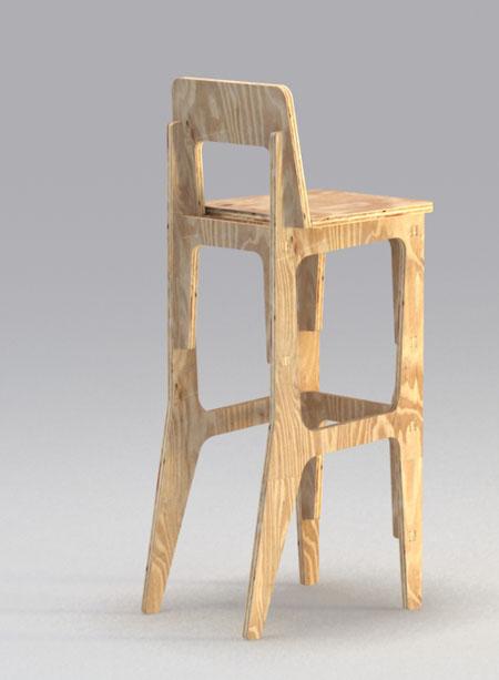 Как сделать мебель из фанеры
