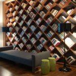 книжный шкаф необычный