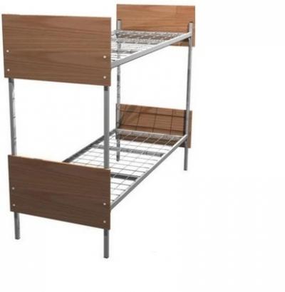 одноярусные металлические кровати для рабочих