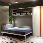 кровать шкаф горизонтальная