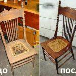 отреставрировать стул