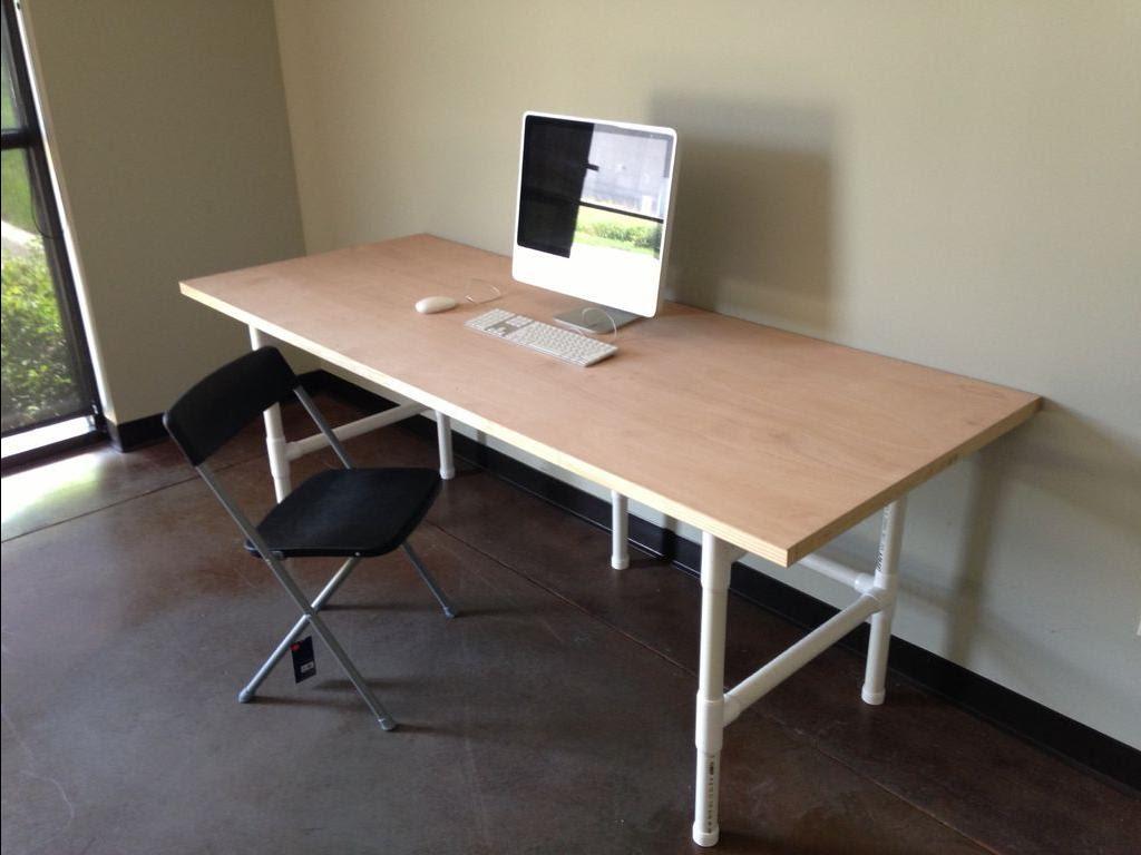 Сделать офисный стол своими руками 77