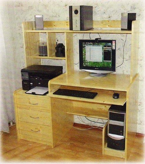 сделать компьютерный стол