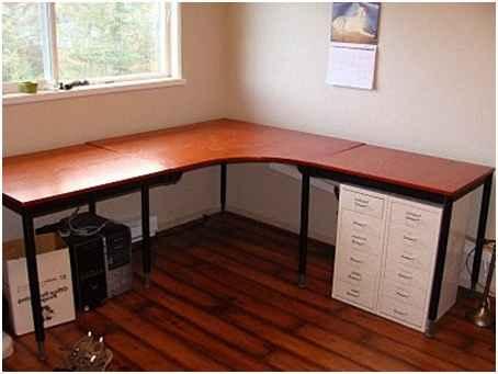 Письменный угловой стол своими руками