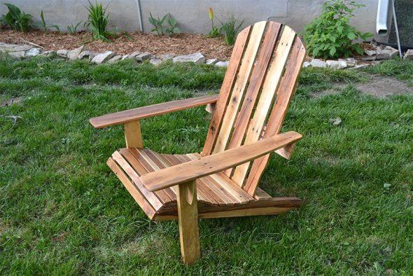 сделать стул или кресло из дерева