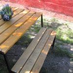 скамья-стол трансформер своими руками