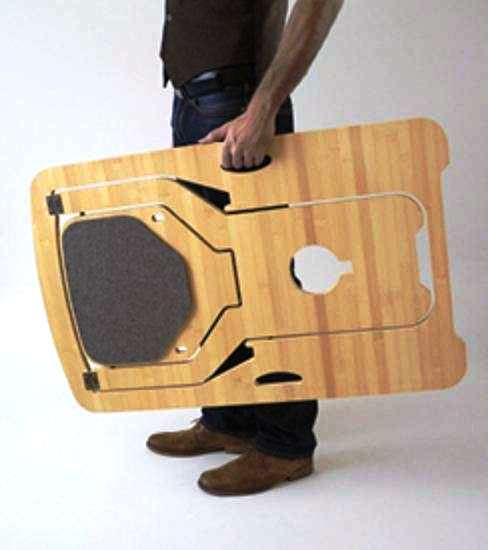 Складной стул из фанеры своими руками